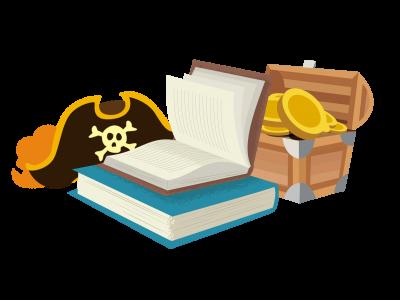 Liste de livres du mois d'Août – Pirates