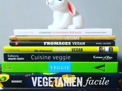 Zoom sur les recettes/livres de cuisine Végétarienne et Vegan!
