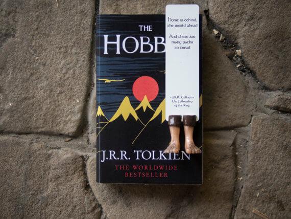 marque pages pieds de hobbit once upon a book votre box livresque. Black Bedroom Furniture Sets. Home Design Ideas