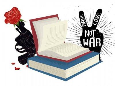 Liste de livres de Novembre: Faites l'amour pas la guerre