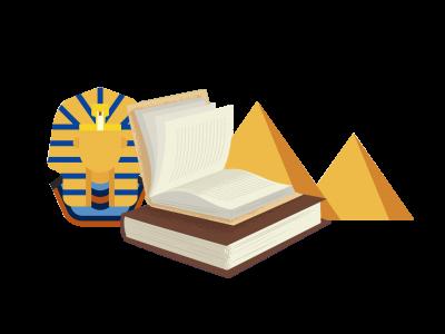 Liste des livres d'Avril – Au temps des Pharaons
