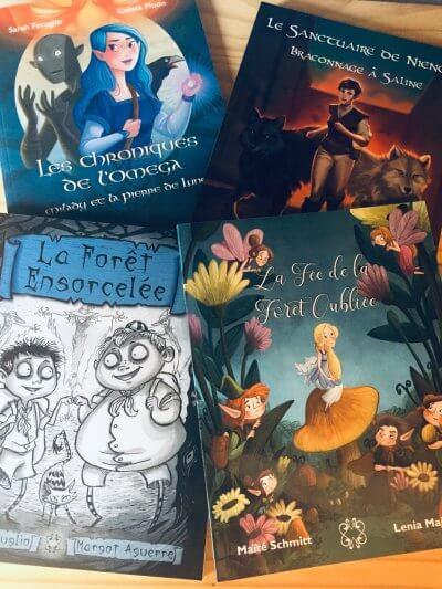 Les romans fantastiques de Mage éditions