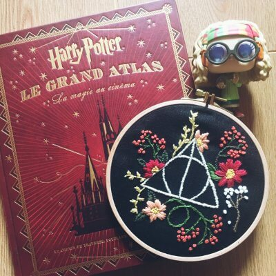 Broderie fait main – Harry Potter