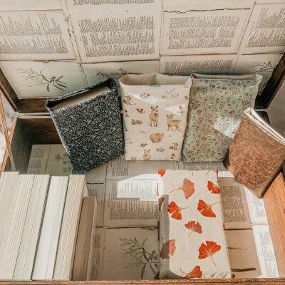 Pochette à livres – Les Nouveautés